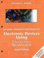 Cover image for Computer simulated experiments for electronic devices using electronics workbench