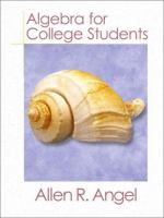 Cover image for Algebra for college students