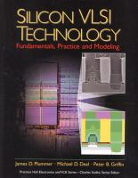 Cover image for Silicon VLSI technology : fundamentals, practice and modeling