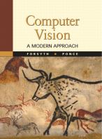 Cover image for Computer vision : a modern approach