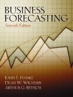 Cover image for Business forecasting