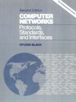 Cover image for Computer networks : protocols, standards, and interfaces