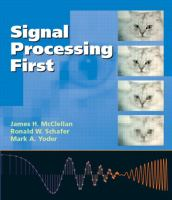Cover image for Signal processing first