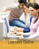 Cover image for Assessing learners online