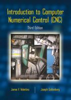Cover image for Introduction to computer numerical control (CNC)