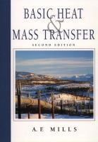 Cover image for Basic heat and mass transfer