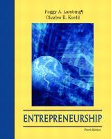Cover image for Entrepreneurship