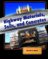 Cover image for Highway materials, soils, and concretes