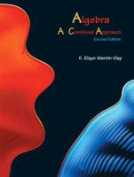 Cover image for Algebra : a combined approach