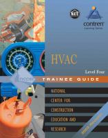 Cover image for HVAC-heating, ventilating, and air conditioning : level four