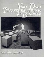 Cover image for Voice/Data telecommunications for business