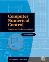 Cover image for Computer numerical control : operation and programming