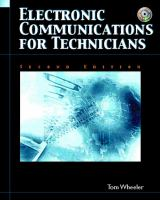 Cover image for Electronic communications for technicians