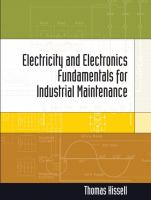 Cover image for Electricity and electronics fundamentals for industrial maintenance