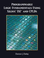Cover image for Programmable logic fundamentals using Xilinx ISE and CPLDs