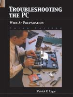 Cover image for Troubleshooting the pc: with A+ preparation