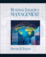 Cover image for Business logistics/supply chain management : planning, organizing, and controlling the supply chain