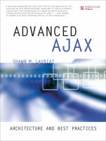 Cover image for Advanced Ajax : architecture and best practices