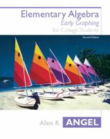 Cover image for Elementary algebra for college students : early graphing