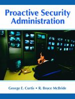 Cover image for Proactive security administration