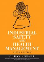 Cover image for Industrial safety and health management