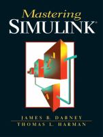 Cover image for Mastering Simulink