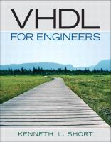 Cover image for VHDL for engineers