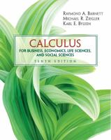 Cover image for Calculus : for business, economics, life sciences, and social sciences