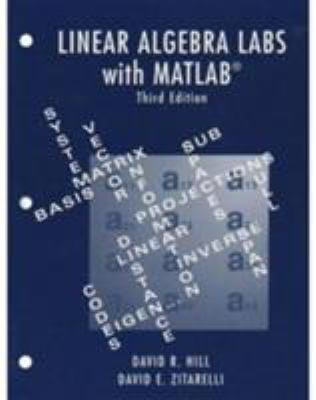 Cover image for Linear algebra LABS with MATLAB