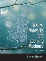 Cover image for Neural networks and learning machines