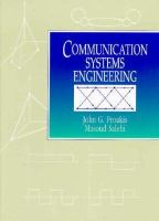 Cover image for Communication systems engineering