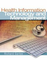 Cover image for Health information technology and management