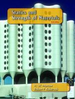 Cover image for Statics and strength of materials