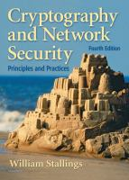 Cover image for Cryptography and network security : principles and practices