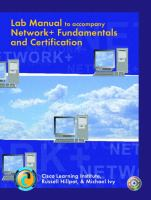 Cover image for Lab manual to accompany Network+ fundamentals and certification