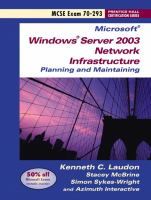 Cover image for Planning and maintaining a Microsoft Windows Server 2003 network infrastructure exam 70-293