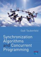 Cover image for Synchronization algorithms and concurrent programming