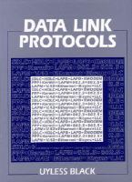 Cover image for Data link protocols
