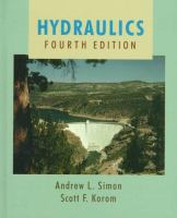Cover image for Hydraulics