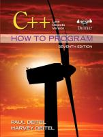 Cover image for C++ how to program : late objects version