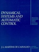 Cover image for Dynamical systems and automatic control