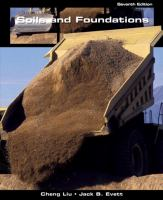 Cover image for Soils and foundations