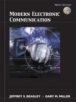Cover image for Modern electronic communication