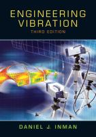 Cover image for Engineering vibration