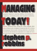 Cover image for Managing today!