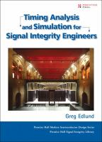 Cover image for Timing analysis and simulation for signal integrity engineers