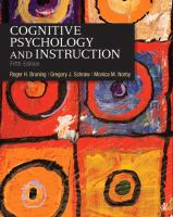 Cover image for Cognitive psychology and instruction