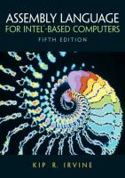 Cover image for Assembly language for intel -based computers