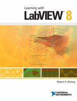 Cover image for Learning with LabVIEW 8