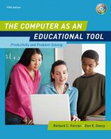 Cover image for The computer as an educational tool : productivity and problem solving